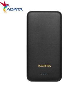 【ADATA 威剛】T10000 輕薄型行動電源 BSMI認證