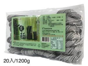 龍崎竹炭麵